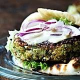 Falafel-Inspired Quinoa Burgers