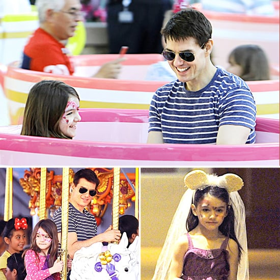 Tom and Suri Cruise Hit Disneyland Together