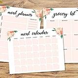 Meal Calendar ($3)