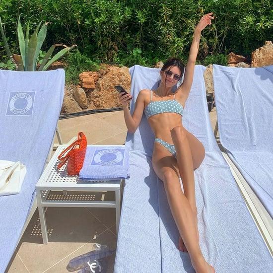 Kendall Jenner Polka Dot Bikini May 2019