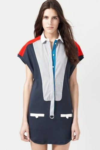 Lacoste Fashion Show Short Sleeve Colorblock Polo ($300)