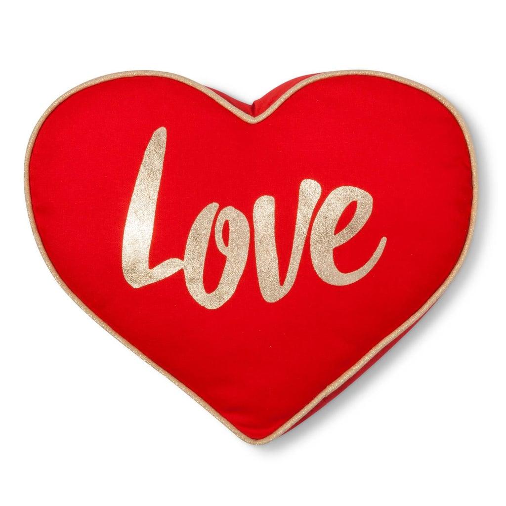 Mini Heart Love Throw Pillow