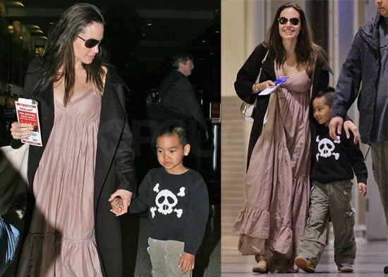 Angelina Jolie Shows Off the New Twins