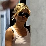Jennifer Aniston Kicks Off Her Memorial Day Weekend With a Stop by a Salon