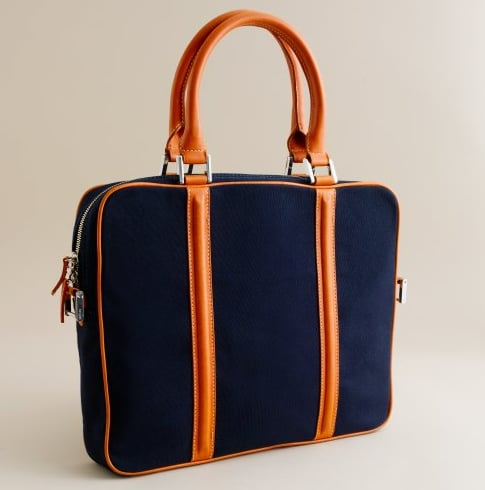 Photos of the J Crew Laptop Bags and iPhone Wallets