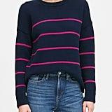 Stripe Chunky Oversized Sweater