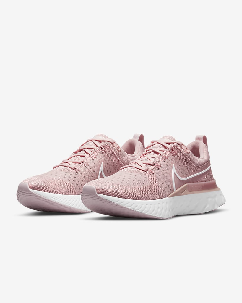 Great for Breathability and Support: Nike React Infinity Run Flyknit 2 Women's Running Shoes