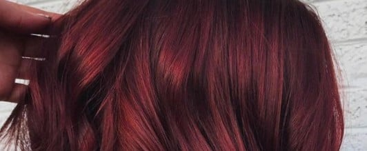 Mulled Wine Winter Hair Color Trend