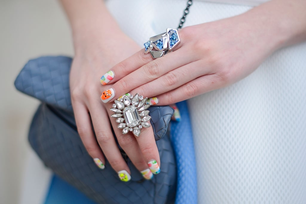 We can't get enough of her baubles — or her nail art.