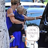 Kate Hudson Lunches With Her Boys Ryder and Bing