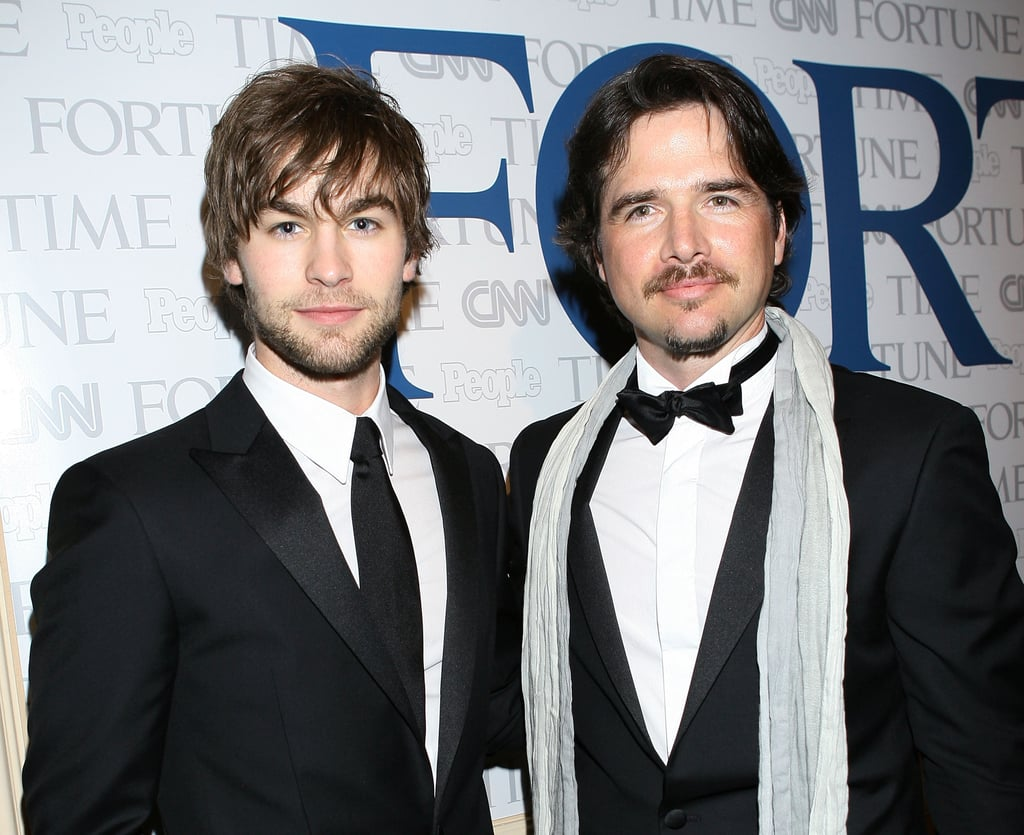 Chace Crawford and Matthew Settle