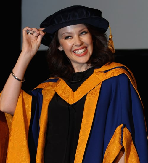 Kylie Minogue Receives Honorary Degree From Anglia Ruskin University