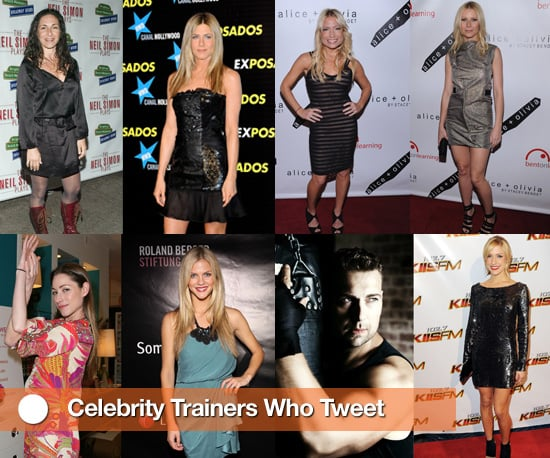 List of Celebrity Trainers on Twitter With Pictures