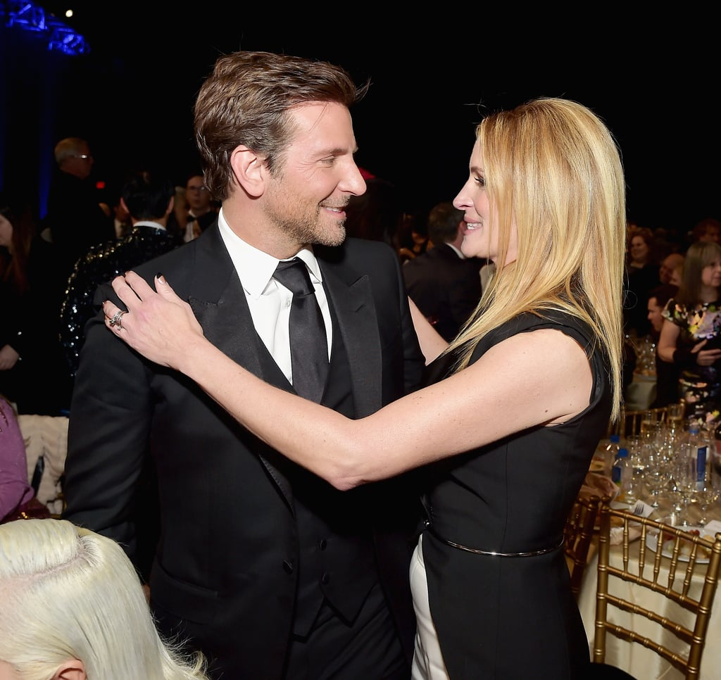 Pictured: Bradley Cooper and Julia Roberts