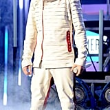 Justin Bieber, who won artist of the year at last year's American Music Awards, performed this year.