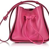 3.1 Phillip Lim Soleil Bougainvillea Leather Mini Bucket Bag