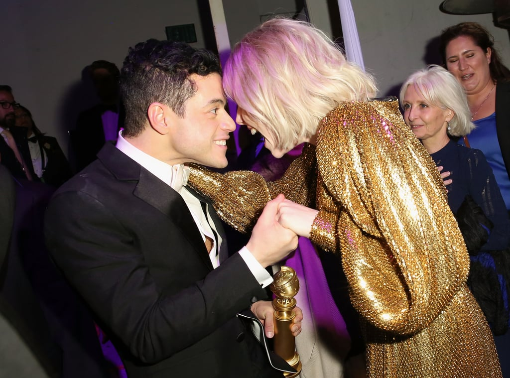 Pictured: Rami Malek and Lucy Boynton