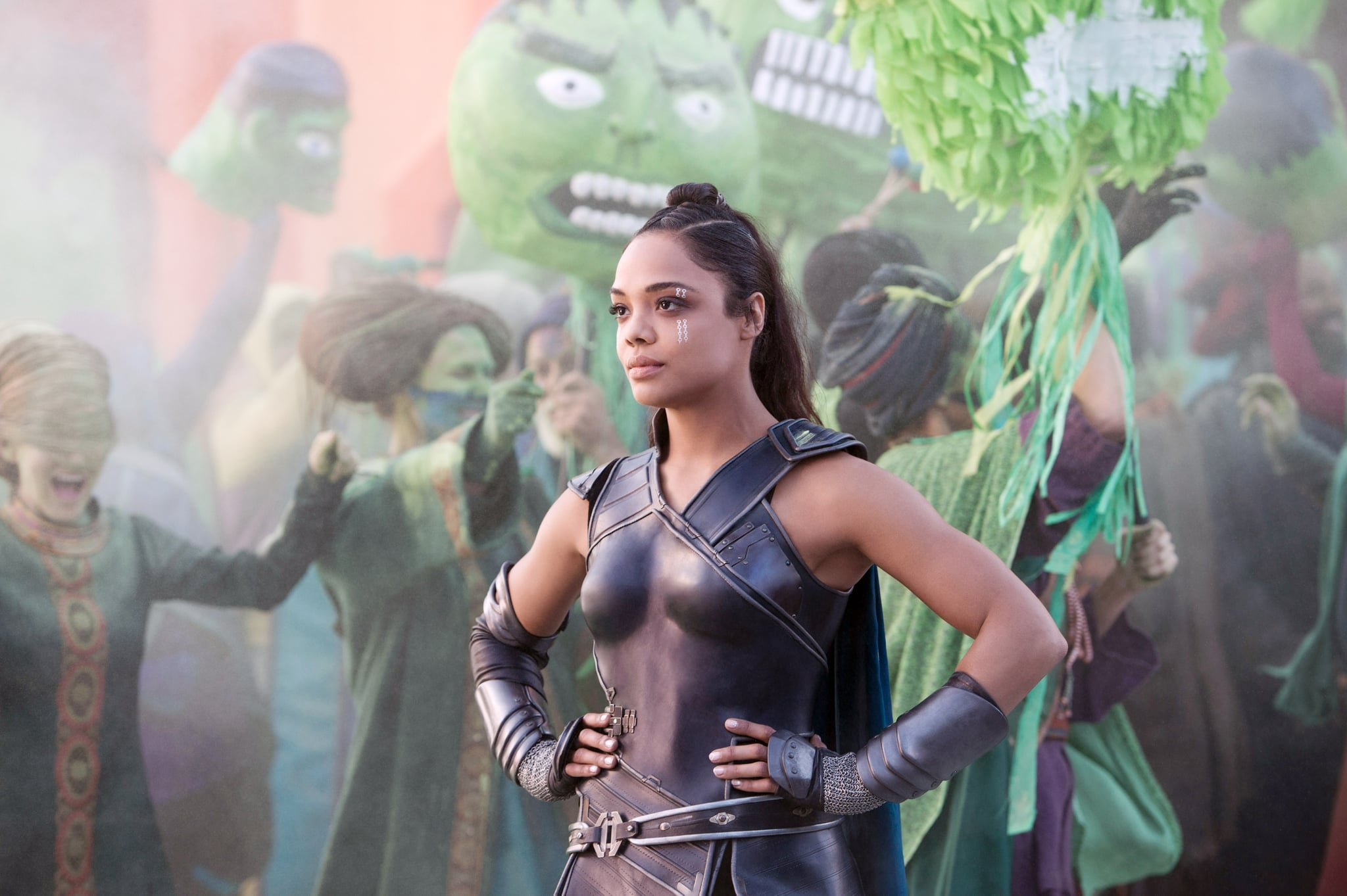 THOR: RAGNAROK, Tessa Thompson as Valkyrie, 2017. ph: Jasin Boland/ Marvel /  Walt Disney Studios Motion Pictures /Courtesy Everett Collection