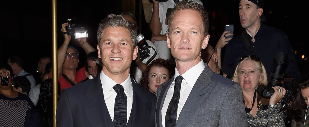 Neil Patrick Harris and David Burtka Hit Up NYFW After Celebrating Their Wedding Anniversary
