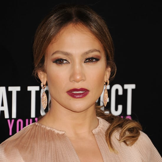 Jennifer Lopez's Dark Lipstick Look