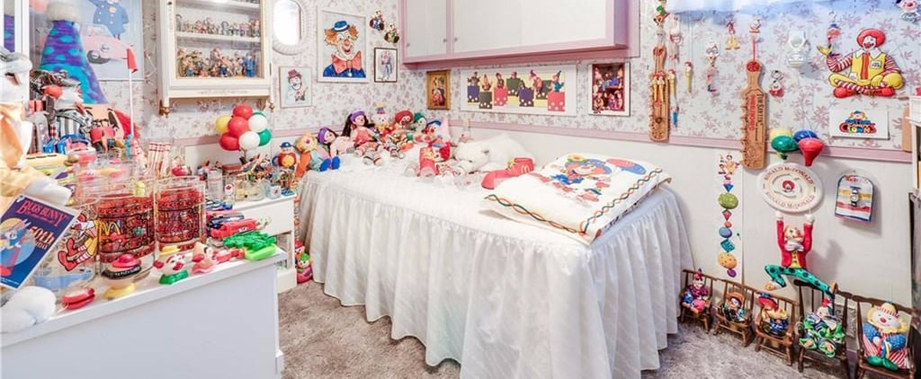 You're Either Going to Scream or Swoon Over This House Filled With 1,500 Toy Clowns