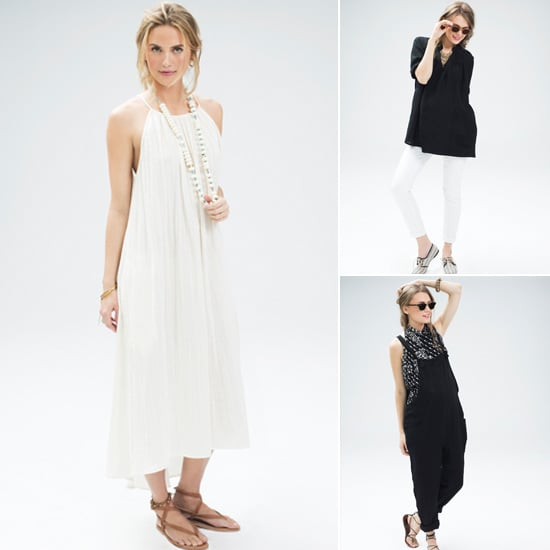 HATCH Plage Maternity Is Black, White, and Resort-Ready!