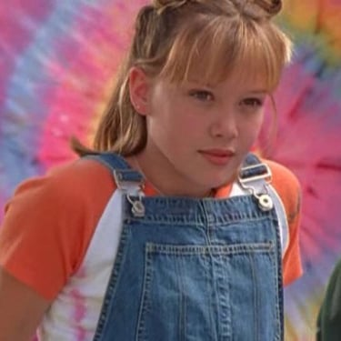 Hilary Duff Dressing Like Lizzie McGuire