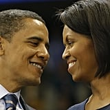 These two looked like teenagers in love during a Pittsburgh rally during the 2008 campaign.