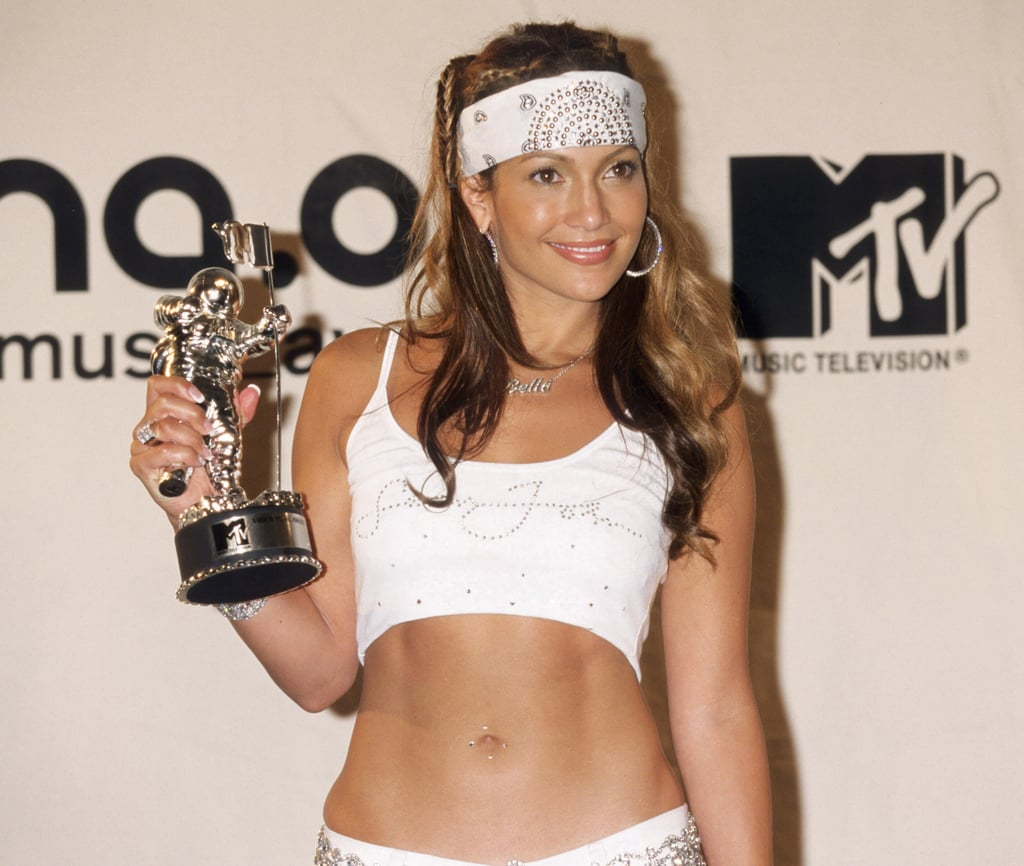 Jennifer Lopez's Braids and Sweatband in 2000