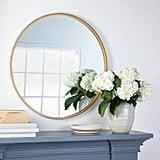 """34"""" Round Decorative Wall Mirror"""