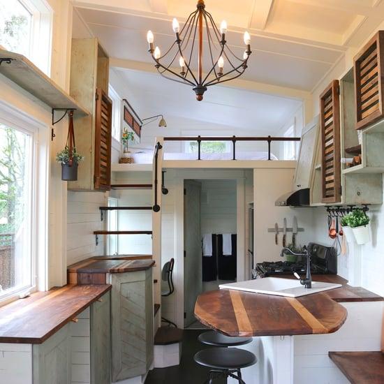 Tiny Farmhouse With Loft Bedroom