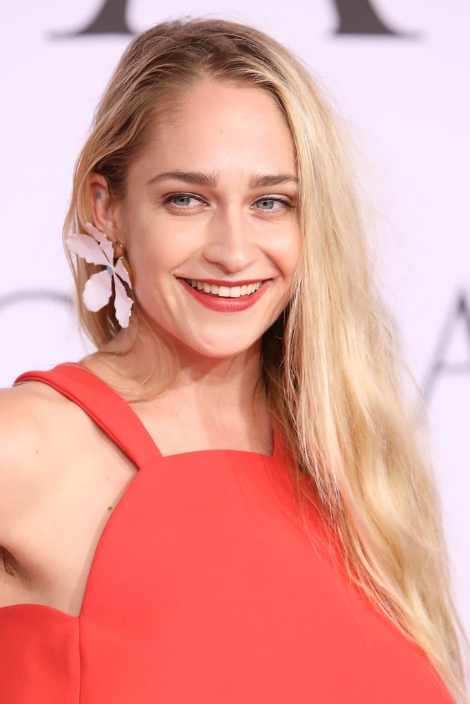 Jemima Kirke Is Trying to Make Armpit Hair on the Red Carpet Cool