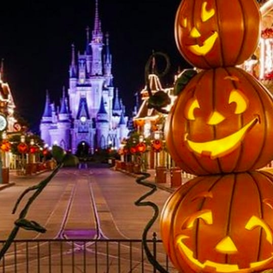 Disney World Halloween Decorations