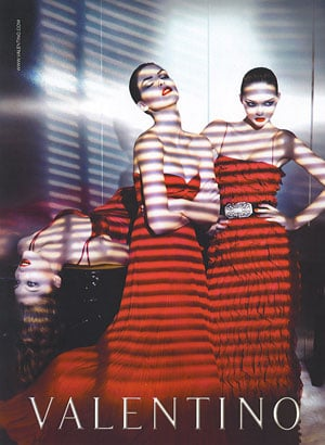 Fab Ad: Valentino Fall/Winter 2007