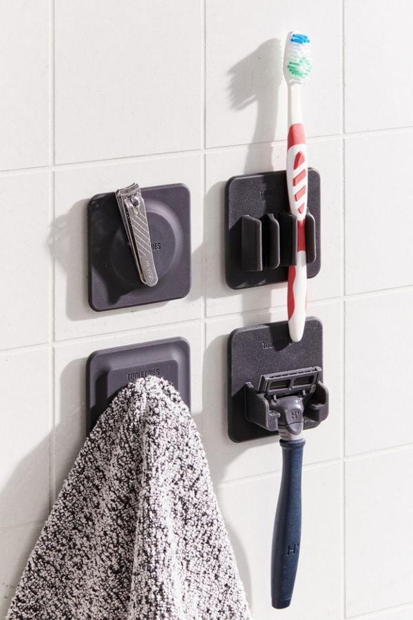 Tooletries Shower Organizer Tiles