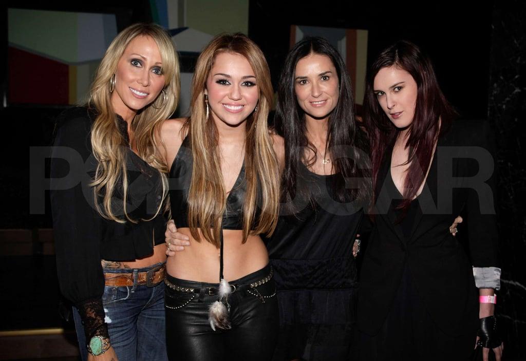 Miley Cyrus Celebrates her 18th Birthday