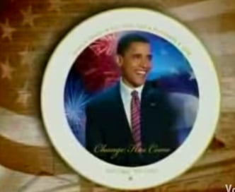 Would You Buy a Barack Obama Victory Plate?