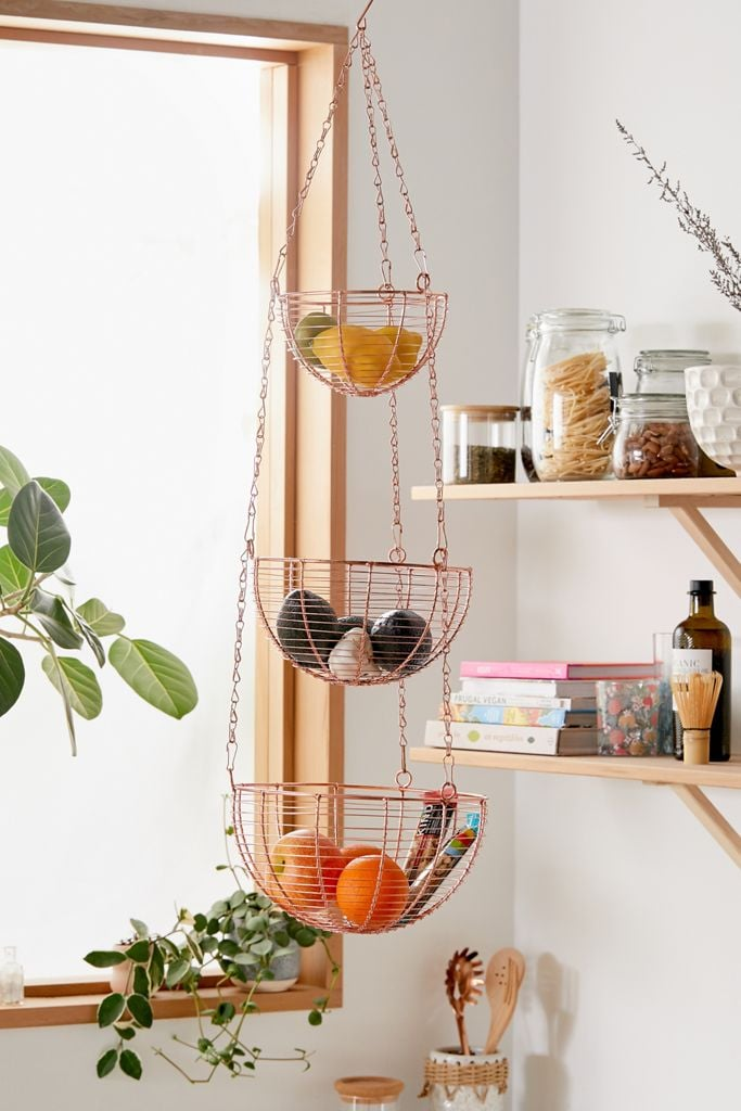 Tammy Metal Hanging Kitchen Basket 27 Stunning Home Pieces You Can Shop On Sale This Weekend Popsugar Home Photo 20