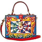 Dolce & Gabbana Dolce hand-painted floral-print box bag ($2,758)