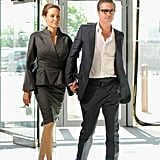 Angelina Jolie and Brad Pitt at Global Summit in London