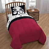 Harry Potter Glasses & Lightning Bolt Reversible Comforter