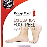 """I feel like I've talked about this at nauseam, but it's important for everyone to know that I take pride in my Baby Foot Original Exfoliant Foot Peel ($25) and its results. It took about a week and a half for my feet to completely shed and now that it's over I really miss it. It was more entertaining than whatever vampire family I recently made on the Sims. The box says don't pull the dead skin, but let's be real, we all do it and love it."" — Samantha Sasso, associate native beauty editor"