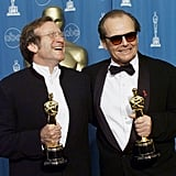 Pictured: Robin Williams and Jack Nicholson