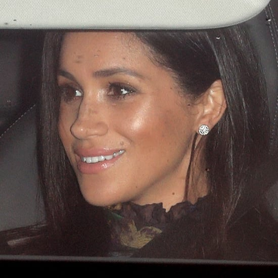 Meghan Markle Cartier Earrings Queen's Christmas Lunch 2018