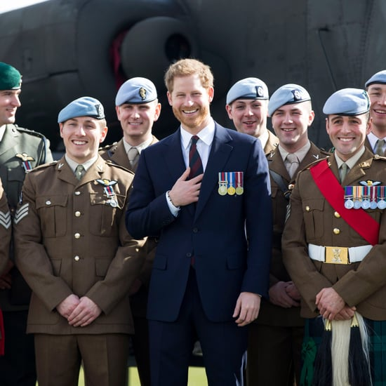 Prince Harry at the Army Aviation Centre 2018