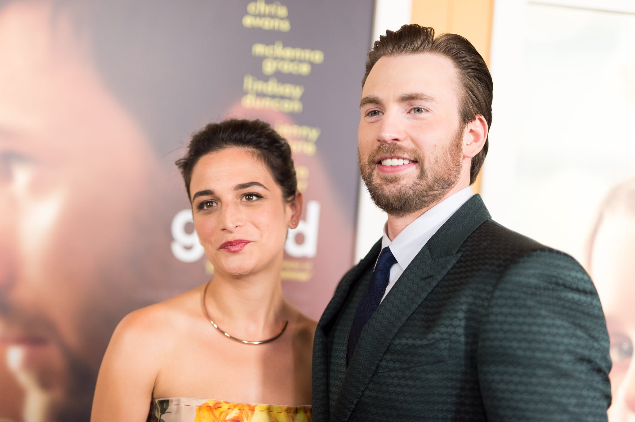 LOS ANGELES, CA - APRIL 04:  Actors Jenny Slate (L) and Chris Evans arrive at the premiere of Fox Searchlight Pictures' 'Gifted' at Pacific theatres at the Grove on April 4, 2017 in Los Angeles, California.  (Photo by Emma McIntyre/Getty Images)