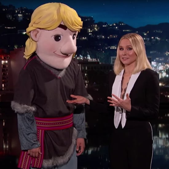 Kristen Bell Frozen Promposal on Jimmy Kimmel Live