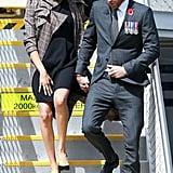 Meghan Stepped Off Her Flight in New Zealand Wearing an ASOS Maternity Dress