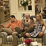 Will Arnett, David Cross, and Portia de Rossi on new episodes of Arrested Development.