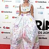 Halsey at the 2019 ARIA Awards